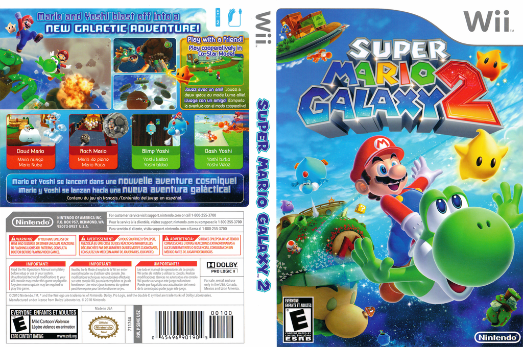 Super Mario Galaxy 2 Array coverfullHQ (SB4E01)