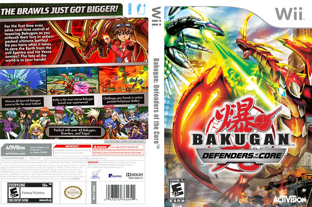 Bakugan: Defenders of the Core Wii coverfullHQ (SB6E52)