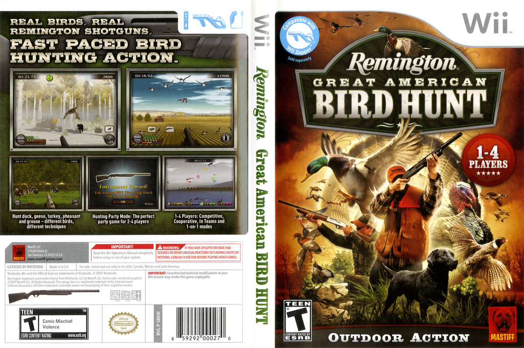 Remington Great American Bird Hunt Array coverfullHQ (SBHEFP)