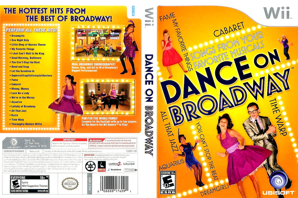Dance on Broadway Wii coverfullHQ (SBYE41)