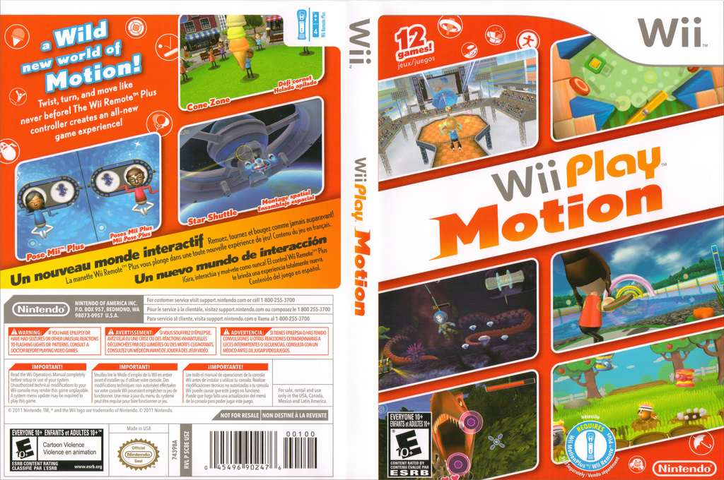 Wii Play: Motion Wii coverfullHQ (SC8E01)