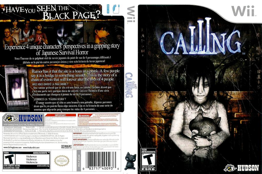 Calling Wii coverfullHQ (SCAE18)