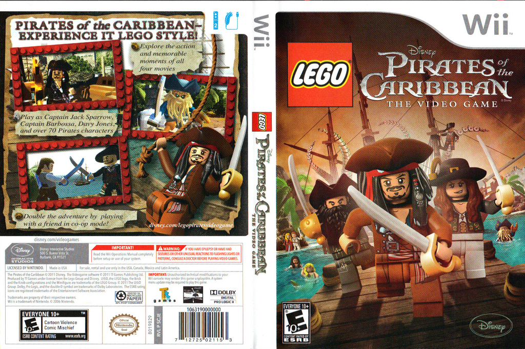 LEGO Pirates of the Caribbean: The Video Game Array coverfullHQ (SCJE4Q)
