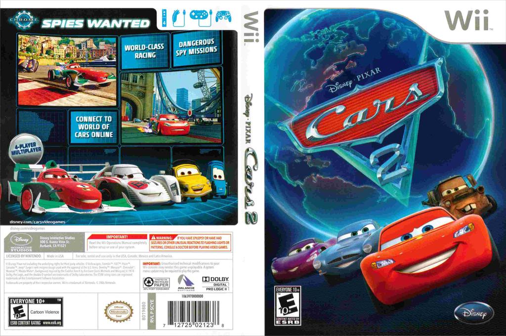 Cars 2 Wii coverfullHQ (SCYE4Q)