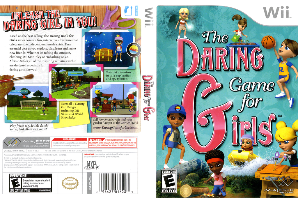 The Daring Game for Girls Wii coverfullHQ (SDAE5G)
