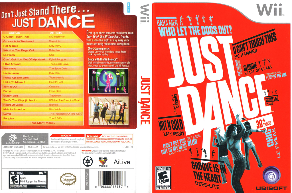 Just Dance Wii coverfullHQ (SDNE41)