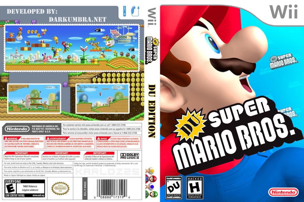 DU Super Mario Bros.:DU Edition Wii coverfullHQ (SDUEO1)