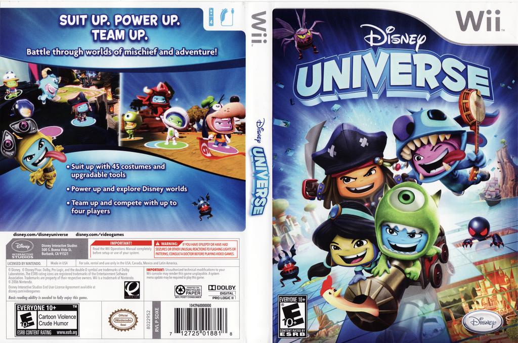 Disney Universe Wii coverfullHQ (SDXE4Q)
