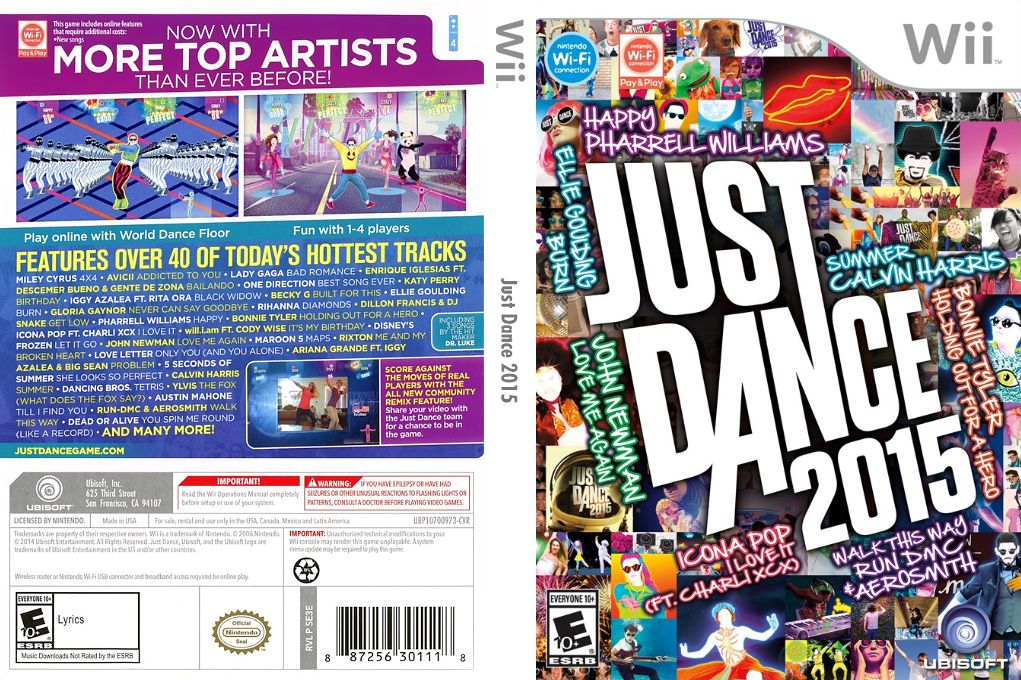 Just Dance 2015 Array coverfullHQ (SE3E41)
