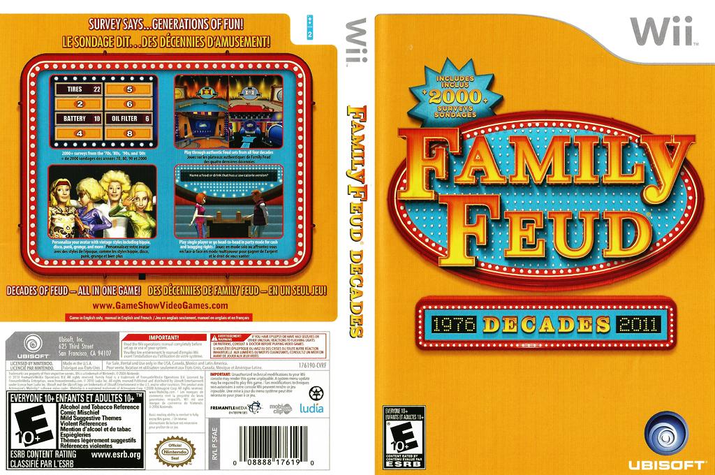 Family Feud Decades Wii coverfullHQ (SFAE41)