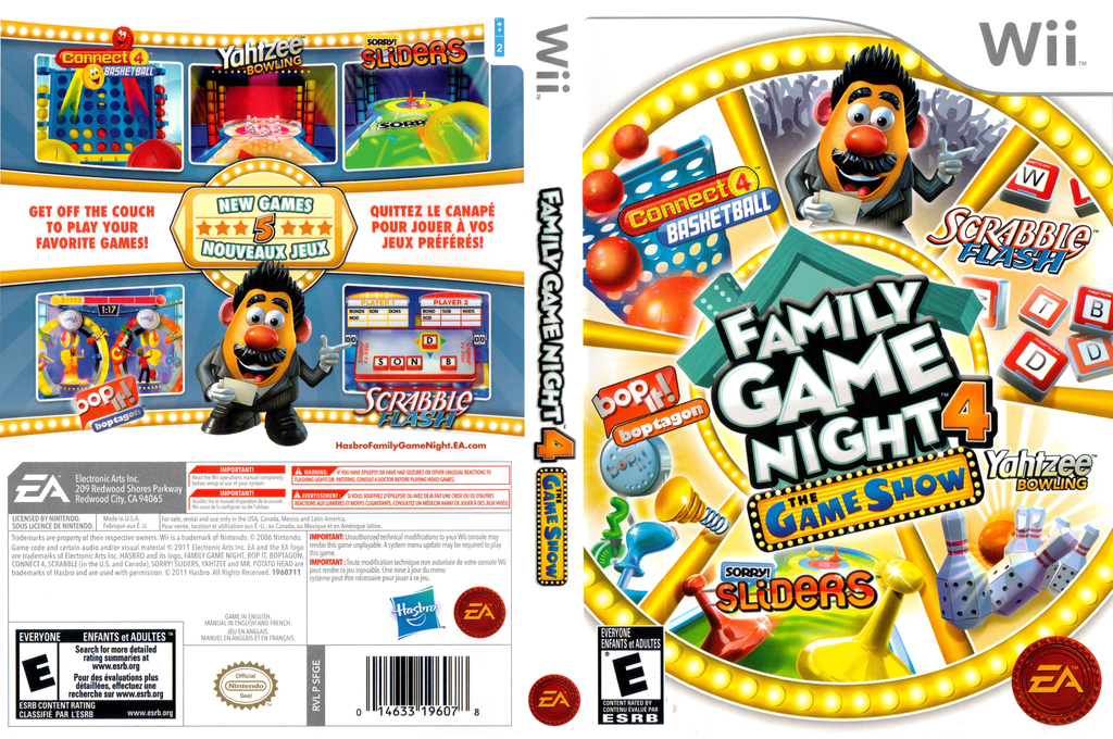 Hasbro: Family Game Night 4 - The Game Show Wii coverfullHQ (SFGE69)