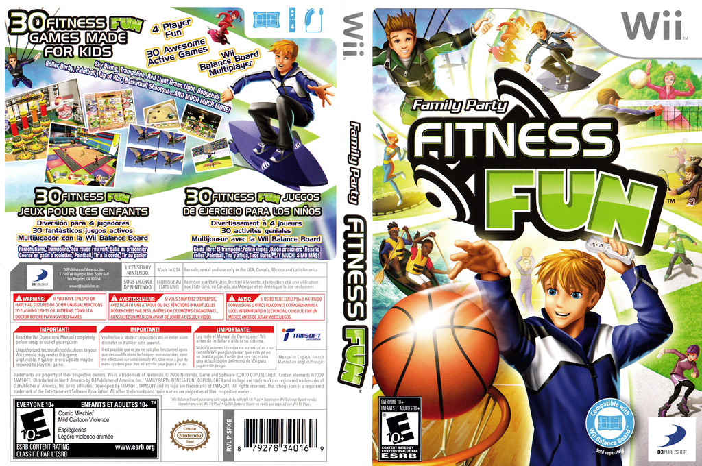 Family Party: Fitness Fun Wii coverfullHQ (SFKEG9)