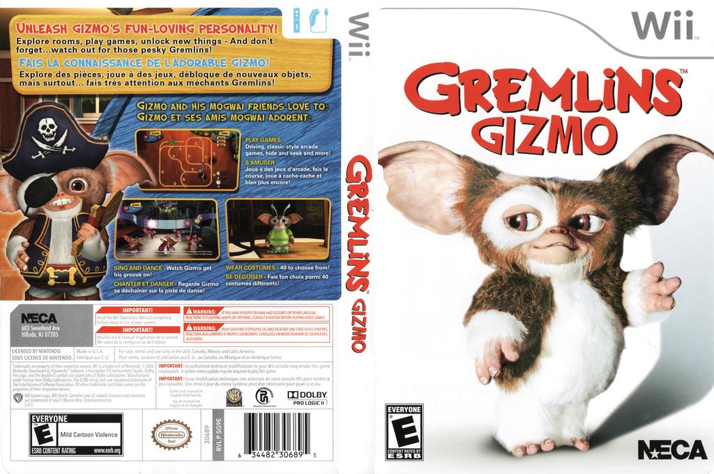 Gremlins: Gizmo Wii coverfullHQ (SG9EYC)