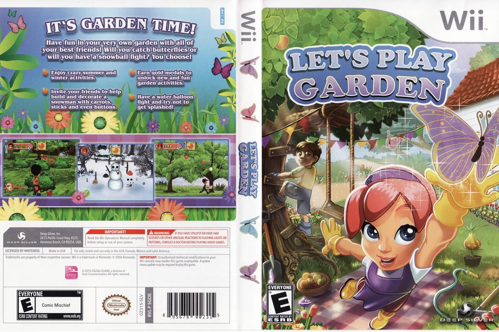 Let's Play Garden Wii coverfullHQ (SGDEJJ)