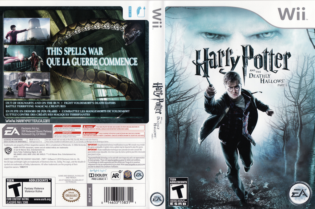 Harry Potter and the Deathly Hallows, Part 1 Array coverfullHQ (SHHE69)