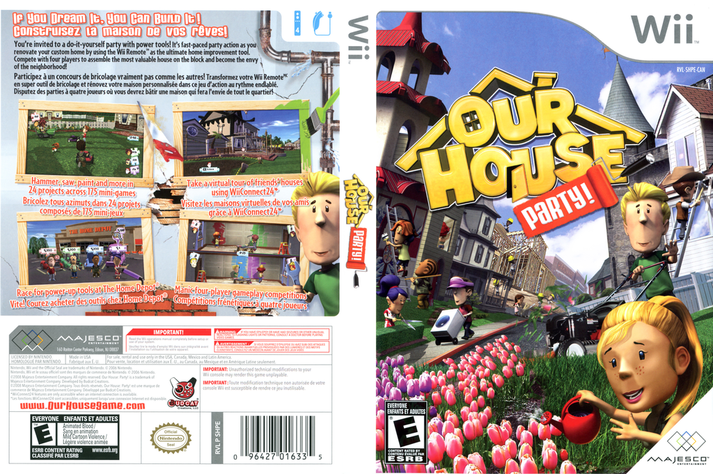 Our House Party Wii coverfullHQ (SHPE5G)