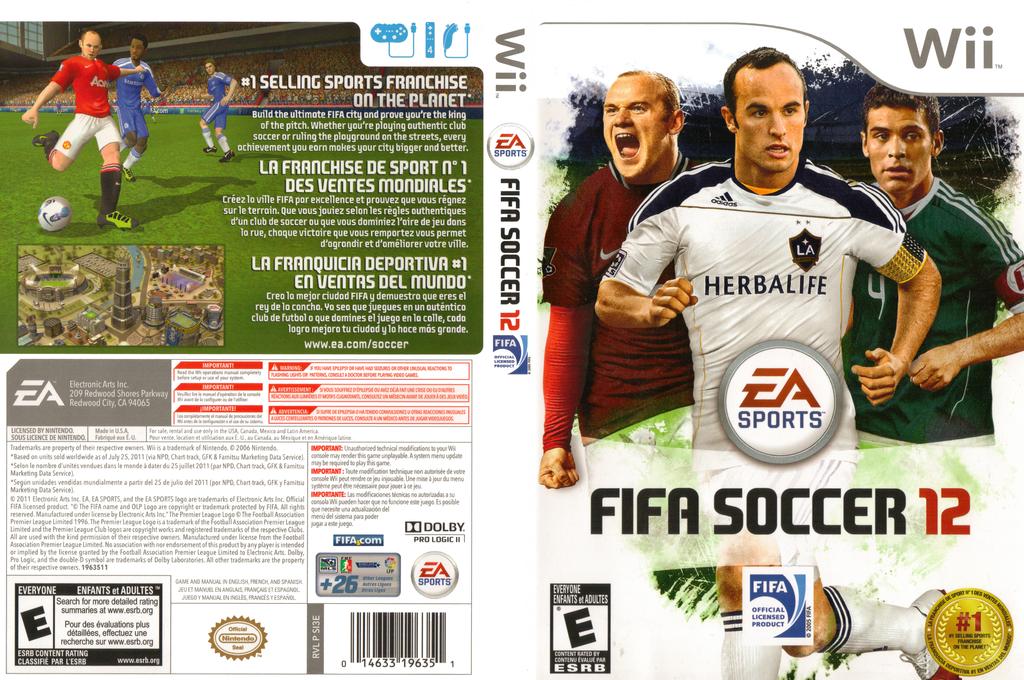 FIFA Soccer 12 Wii coverfullHQ (SI3E69)