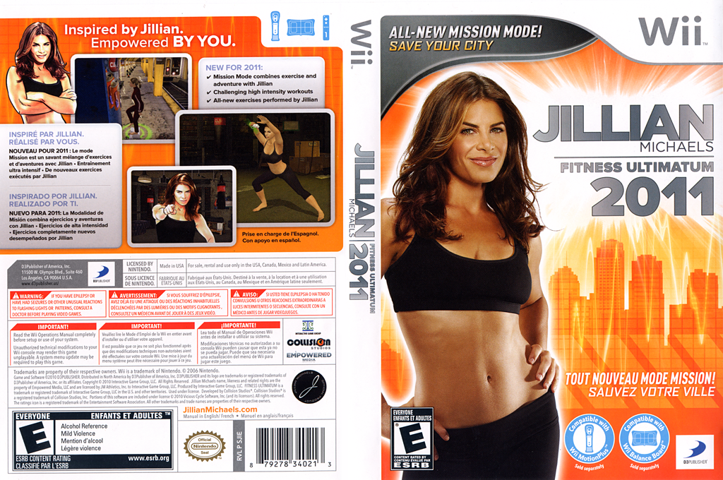 Jillian Michaels Fitness Ultimatum 2011 Wii coverfullHQ (SJIEG9)