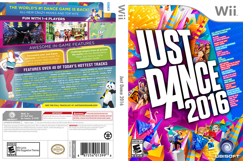Just Dance 2016 Wii coverfullHQ (SJNE41)