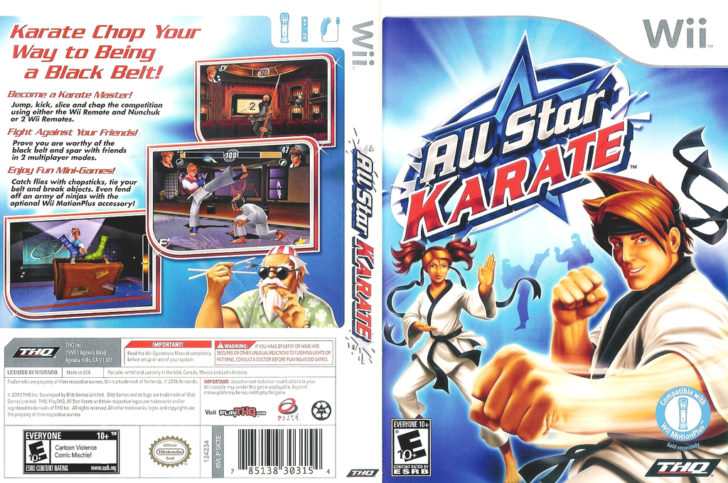 All Star Karate Wii coverfullHQ (SKTE78)