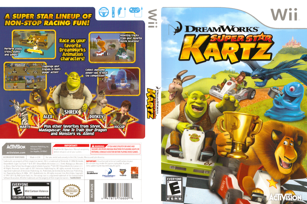 DreamWorks Super Star Kartz Wii coverfullHQ (SKZE52)