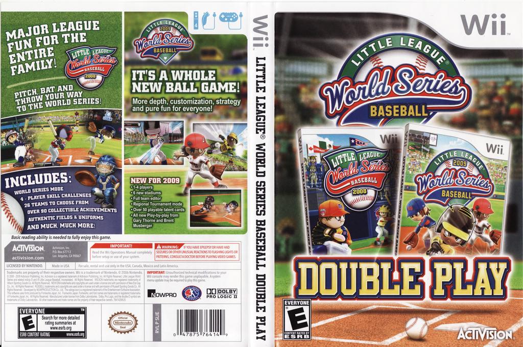 Little League World Series Baseball: Double Play Array coverfullHQ (SLIE52)