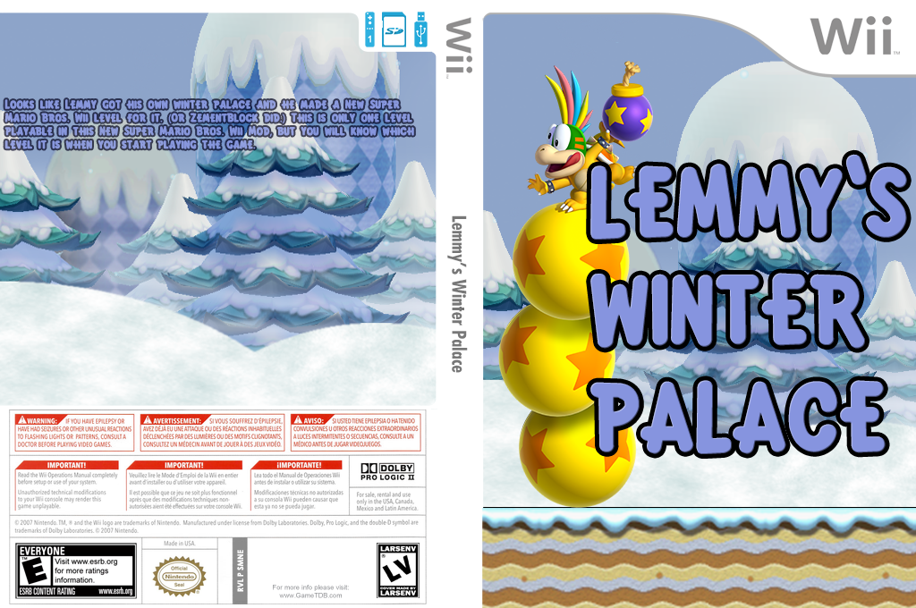 Lemmy's Winter Palace Wii coverfullHQ (SMNE45)