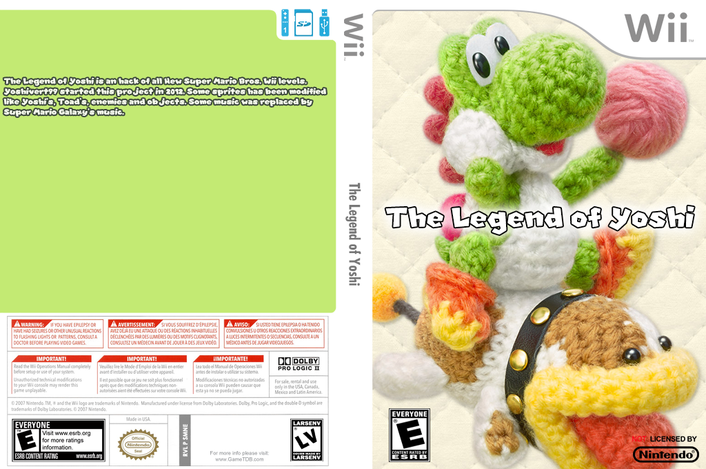 The Legend of Yoshi Wii coverfullHQ (SMNE66)
