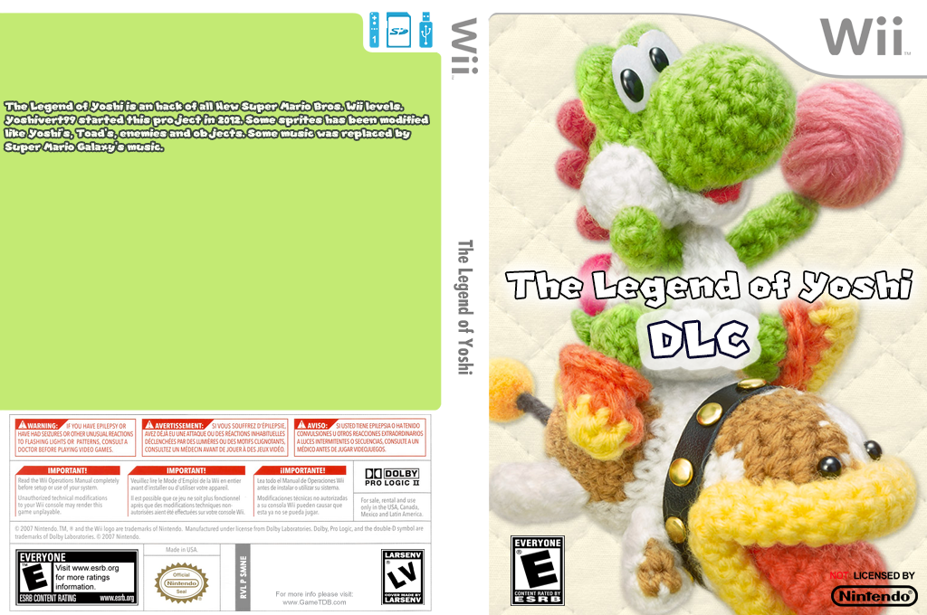 The Legend of Yoshi DLC Wii coverfullHQ (SMNE68)