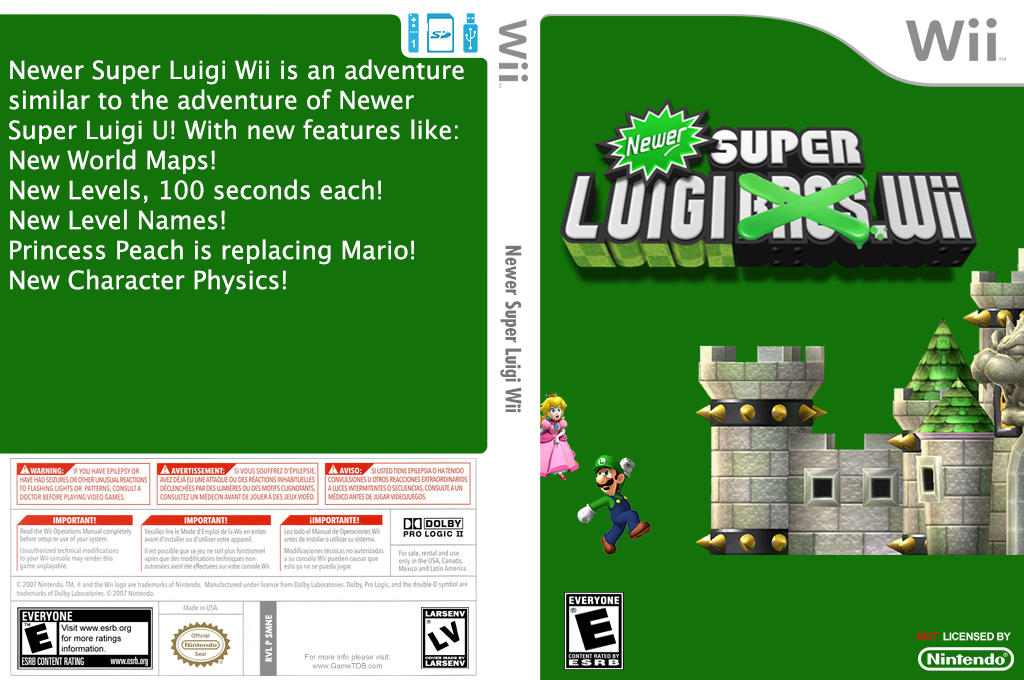 Newer Super Luigi Wii Wii coverfullHQ (SMNELL)