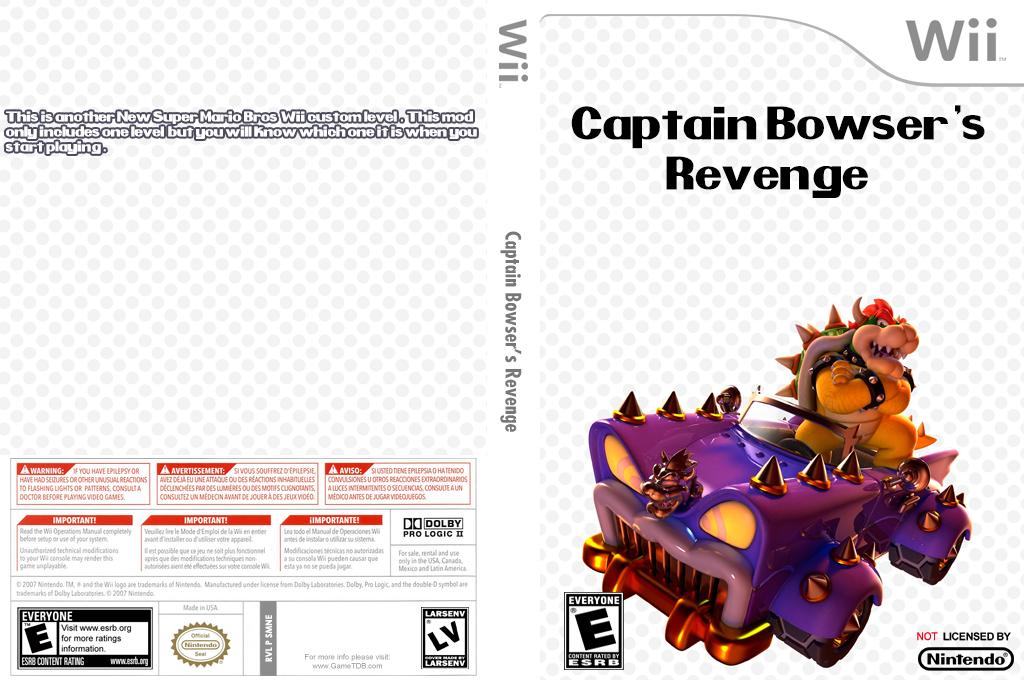 Captain Bowser's Revenge Wii coverfullHQ (SMNEZT)