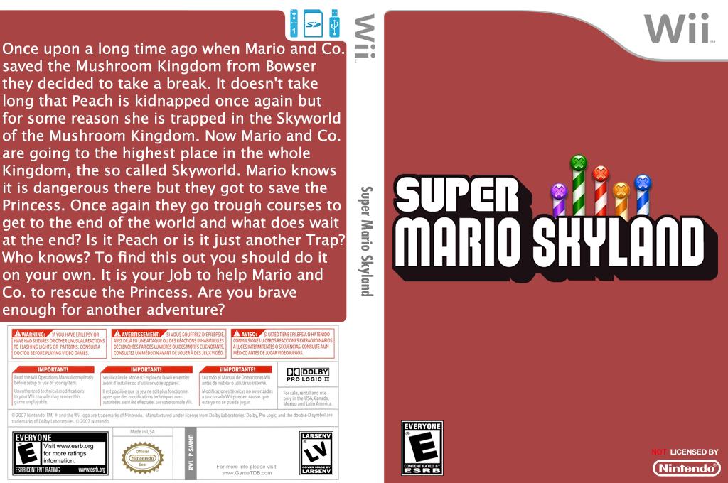 Super Mario Skyland Wii coverfullHQ (SMNEZY)