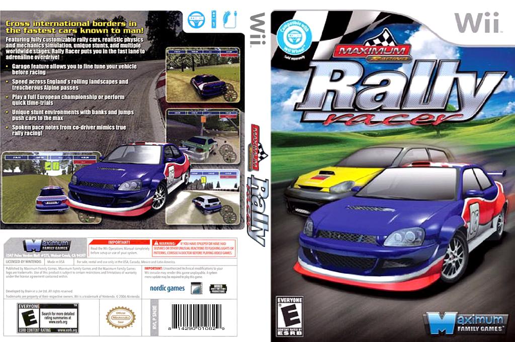 Maximum Racing: Rally Racer Wii coverfullHQ (SN3EYG)