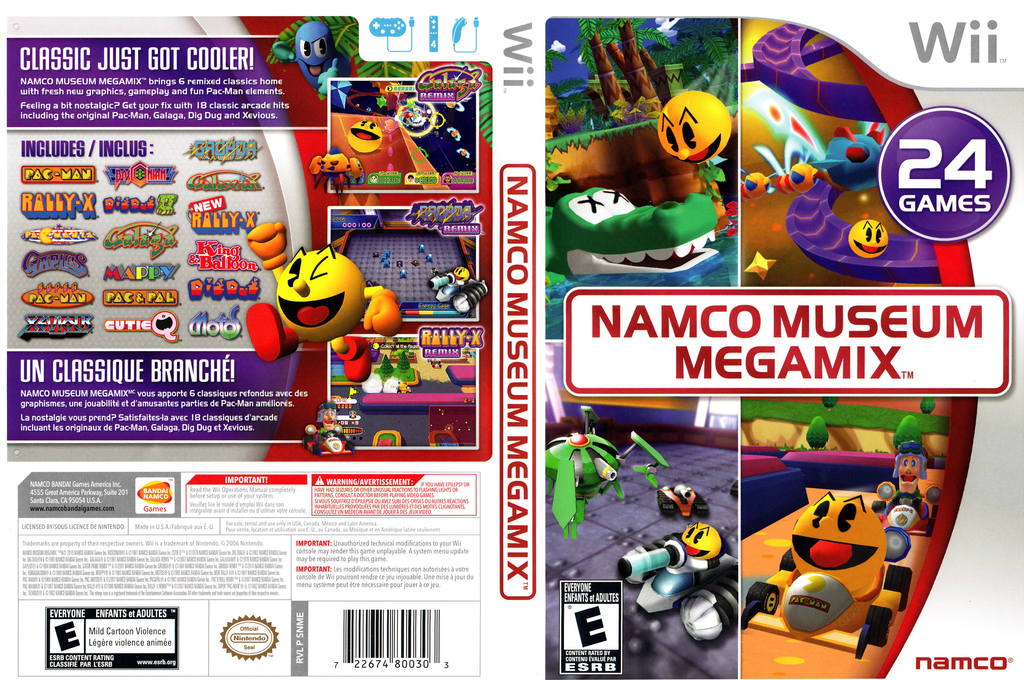 Namco Museum Megamix Wii coverfullHQ (SNMEAF)