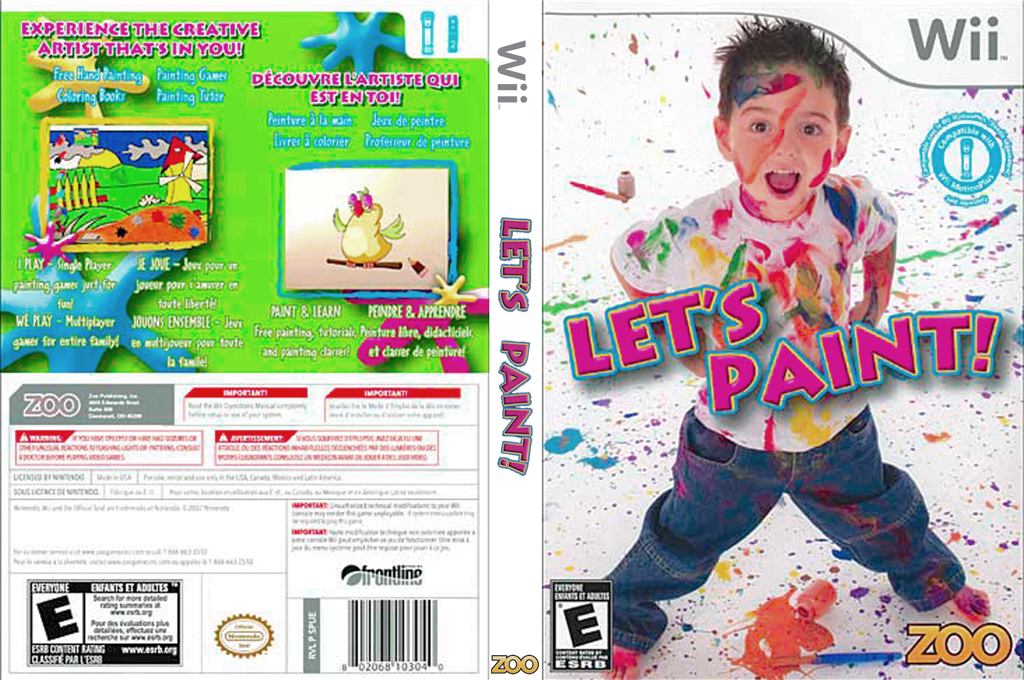 Let's Paint Wii coverfullHQ (SPUE20)