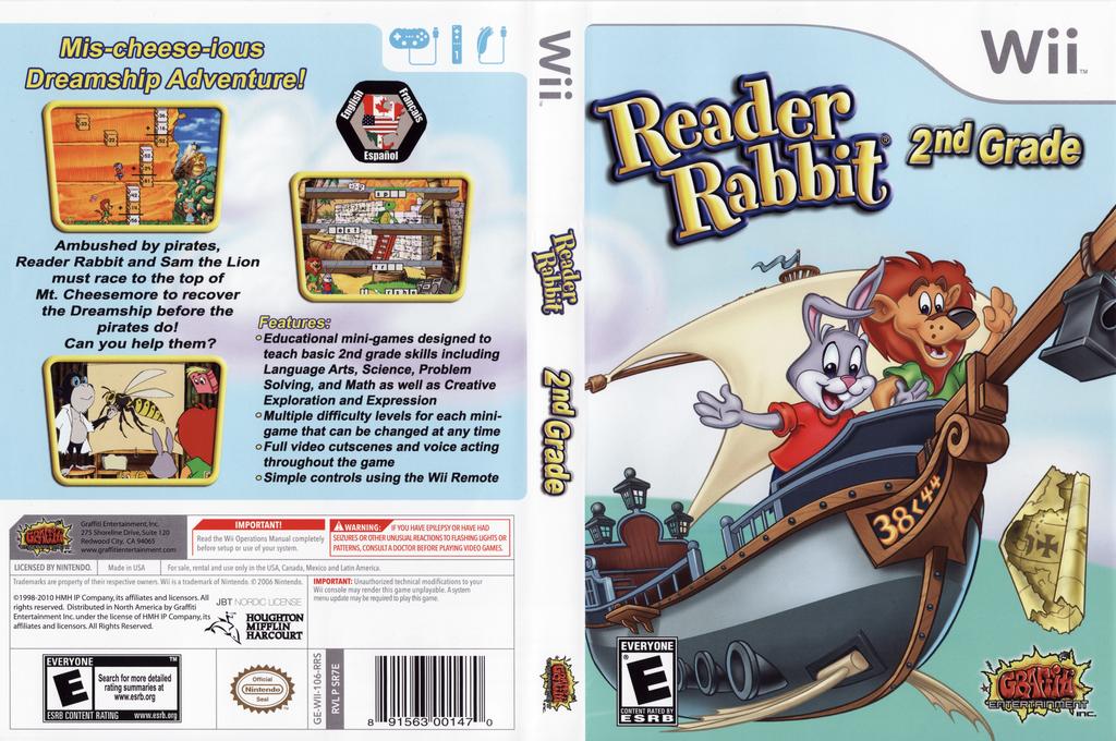 Reader Rabbit 2nd Grade Array coverfullHQ (SR7EHG)