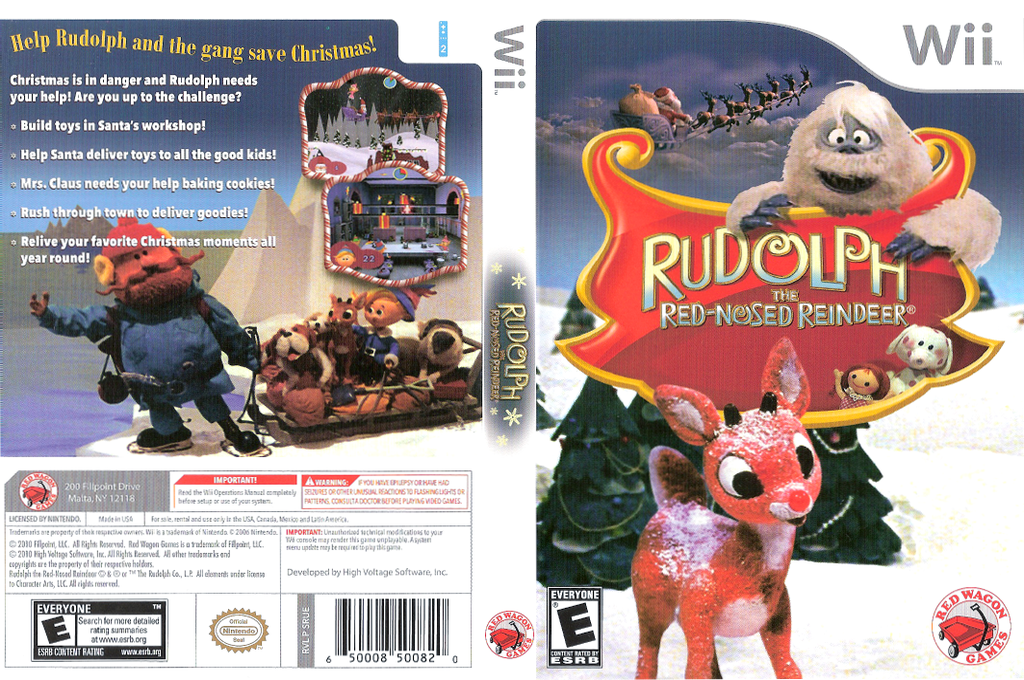 Rudolph the Red-Nosed Reindeer Wii coverfullHQ (SRUE4Z)