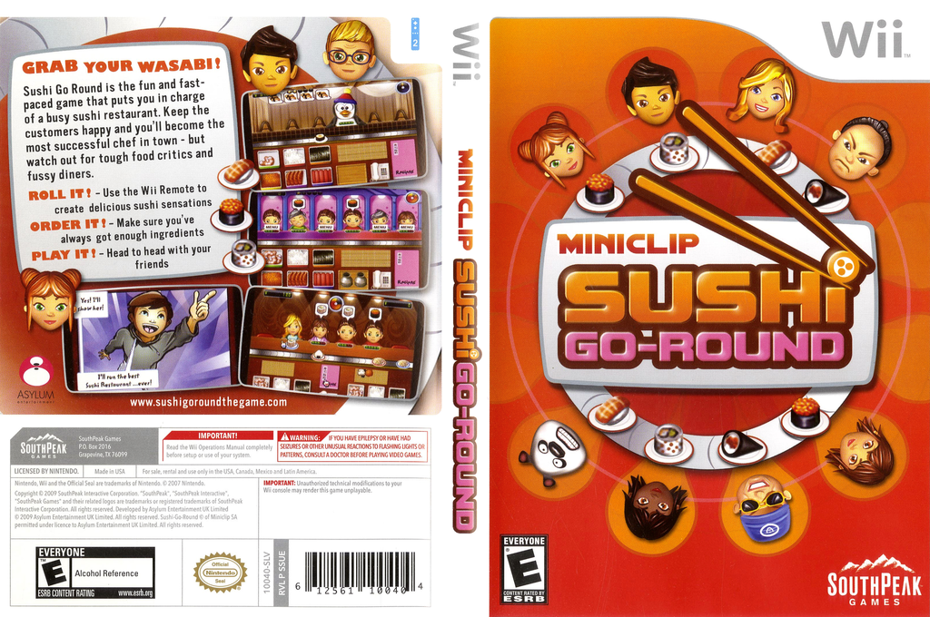 Sushi Go Round Wii coverfullHQ (SSUES5)