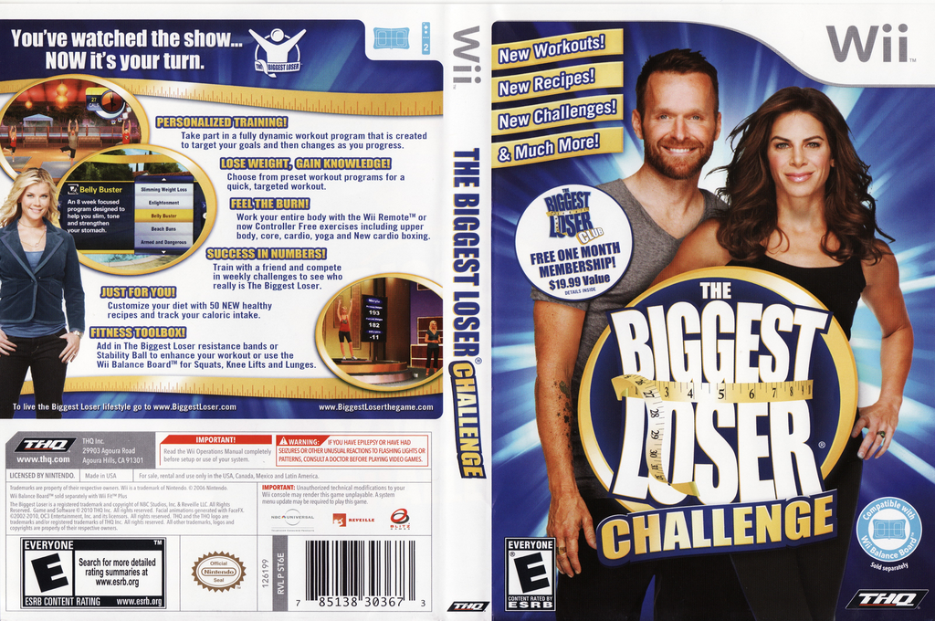The Biggest Loser Challenge Wii coverfullHQ (ST6E78)