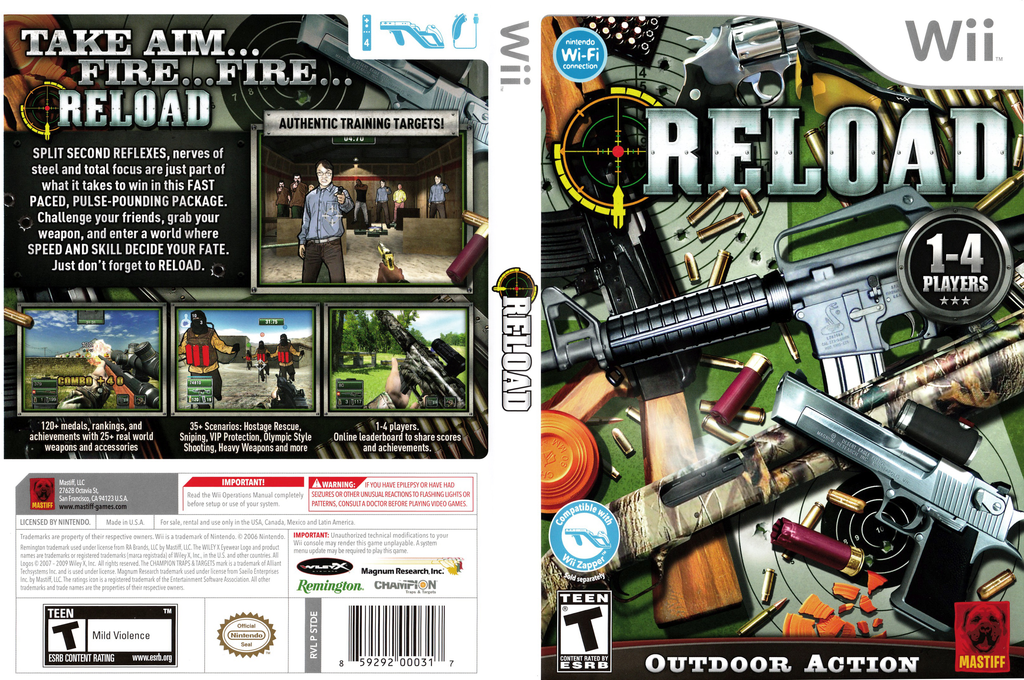 Reload Wii coverfullHQ (STDEFP)