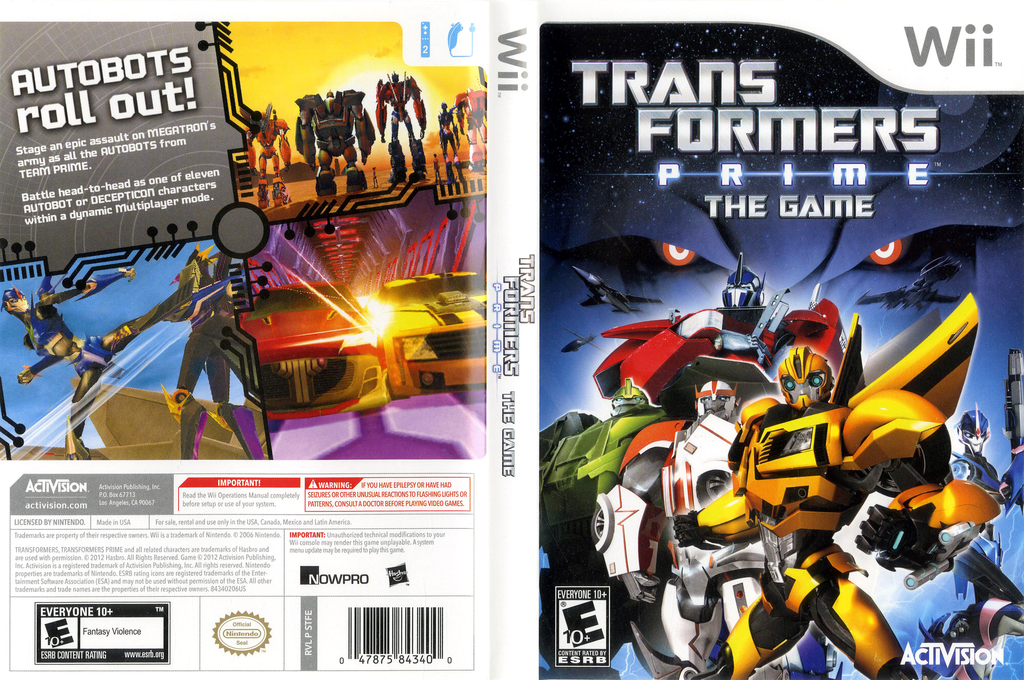 Transformers: Prime Wii coverfullHQ (STFE52)