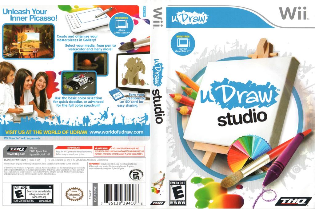 uDraw Studio Wii coverfullHQ (SUWE78)