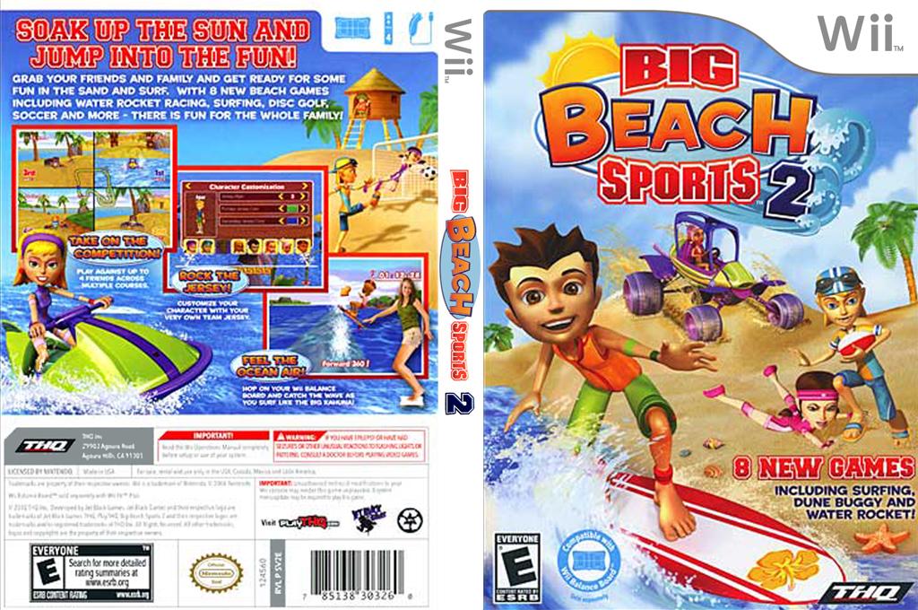 Big Beach Sports 2 Wii coverfullHQ (SV2E78)