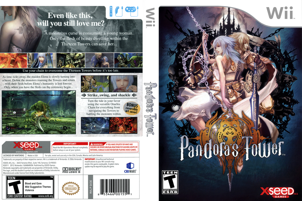 Pandora's Tower Array coverfullHQ (SX3EXJ)