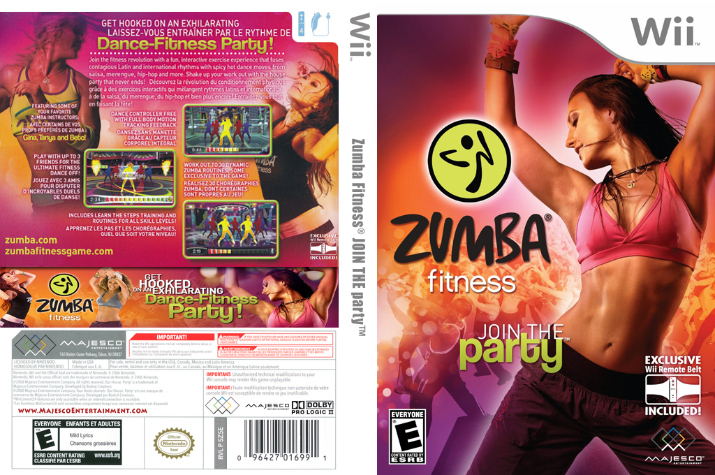 Zumba Fitness Array coverfullHQ (SZ5E5G)