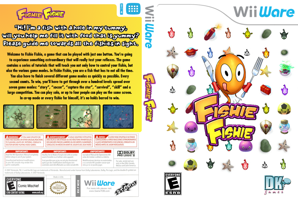 Fishie Fishie Wii coverfullHQ (W2IE)
