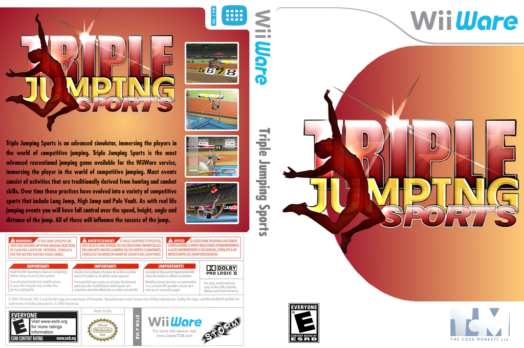 Triple Jumping Sports Wii coverfullHQ (W3JE)
