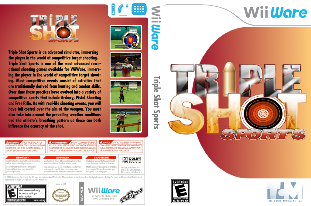 Triple Shot Sports Wii coverfullHQ (W3SE)