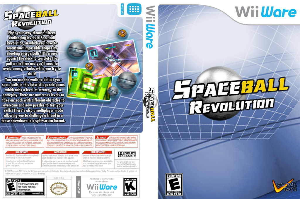 Spaceball Revolution Wii coverfullHQ (W4TE)