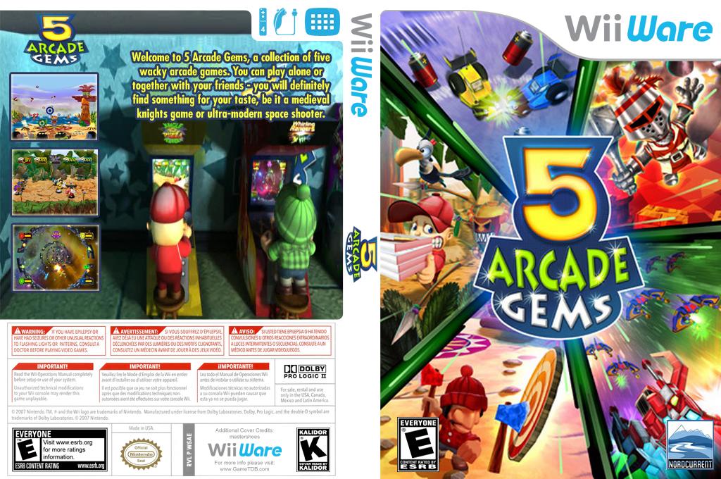 5 Arcade Gems Wii coverfullHQ (W5AE)